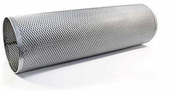 filtre métallique en métal étiré