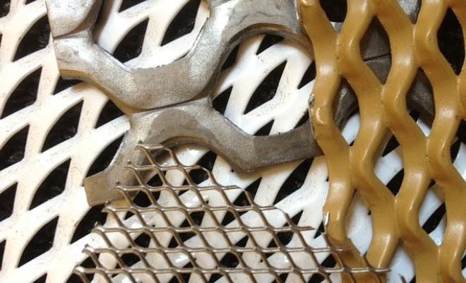 metal deploye aluminium, maille étirée losange, metal deploye acier