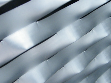 METAL ETIRE aluminium anodisé teinte naturel