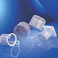 crépines et pièces filtrantes en métal déployé
