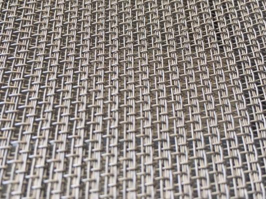 Tissu métallique, inox 304, maille tissée