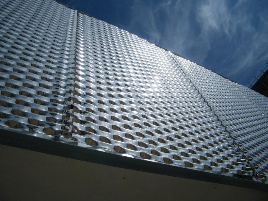 facade métal déployé acier inox