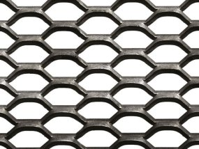 métal déployé acier galva pour platelage et marche