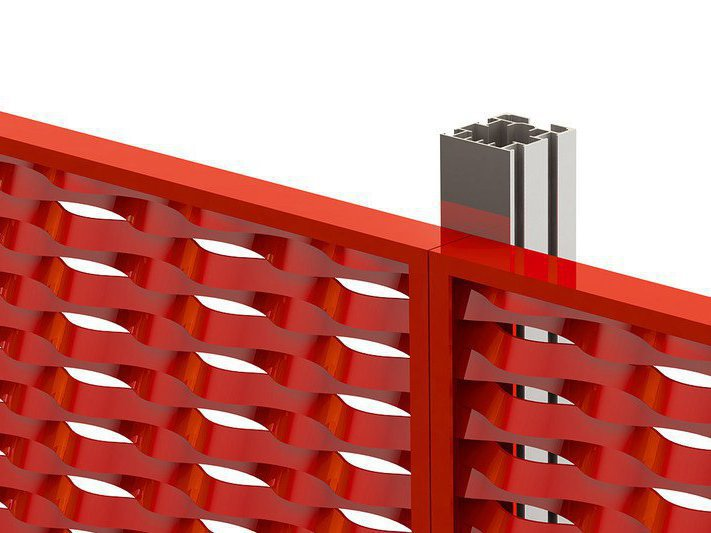 Système de fixation pour metal deployé
