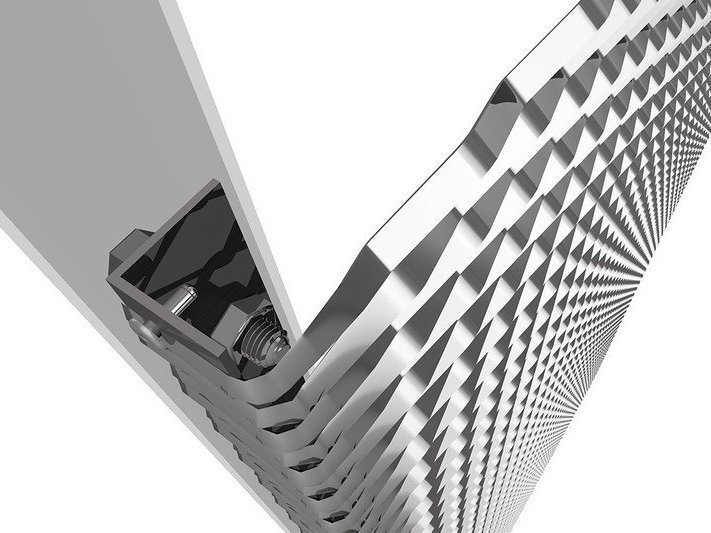 Systeme de fixation BENDfix pour montage métal déployé