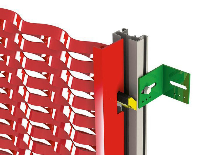 HANGfix L Front for expanded metal panels
