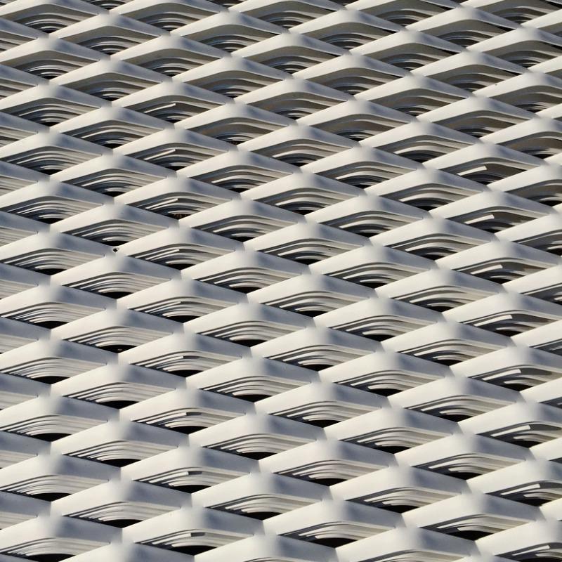 maille métal deploye aluminium laqué