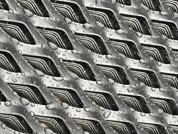metal etire acier, maille 62x25