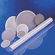 crépines et pièces filtrantes en métal déployé et toile tissée