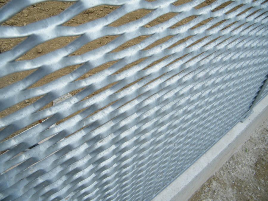 garde-corps acier galvanisé, maille metal galva, grille galva, metal acier galvanisé