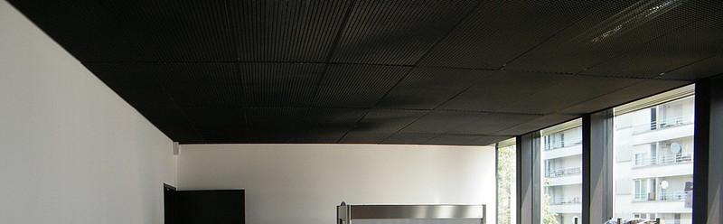 utilisation en plafond m tallique m tal tir tiss solutions. Black Bedroom Furniture Sets. Home Design Ideas