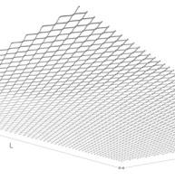 format panneau métal déployé, dimension metal deploye