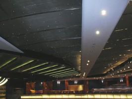 plafond métal déployé