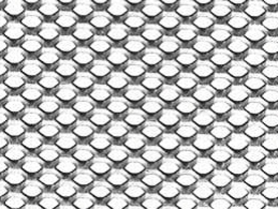 metal etire maille ronde, maille 28x13, metal deployé acier inox