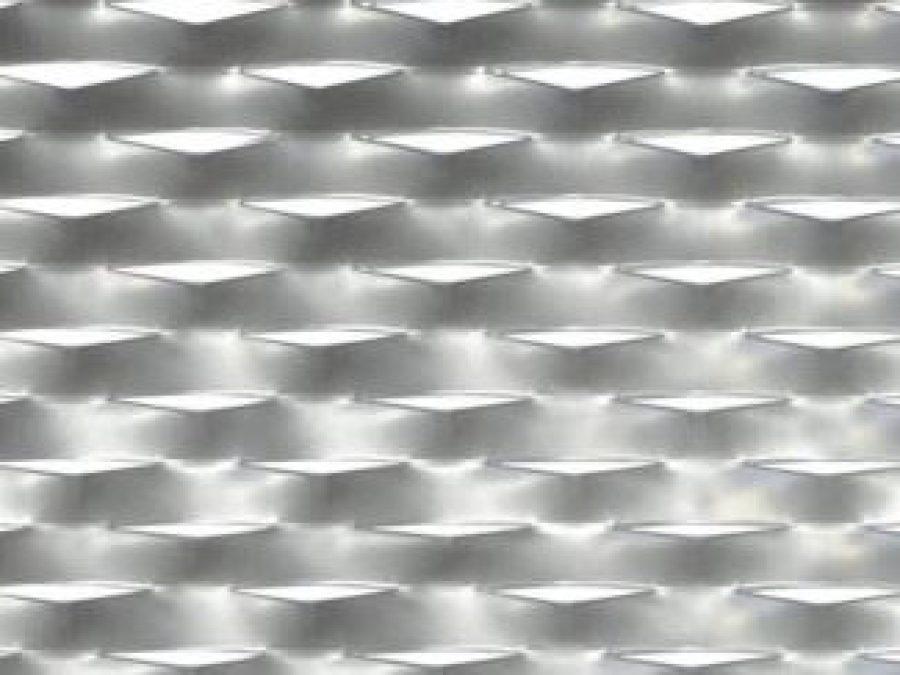 metal deployé Navigli, maille métal étiré pour construction métallique, maille métal 62x30, tole perfore déployée