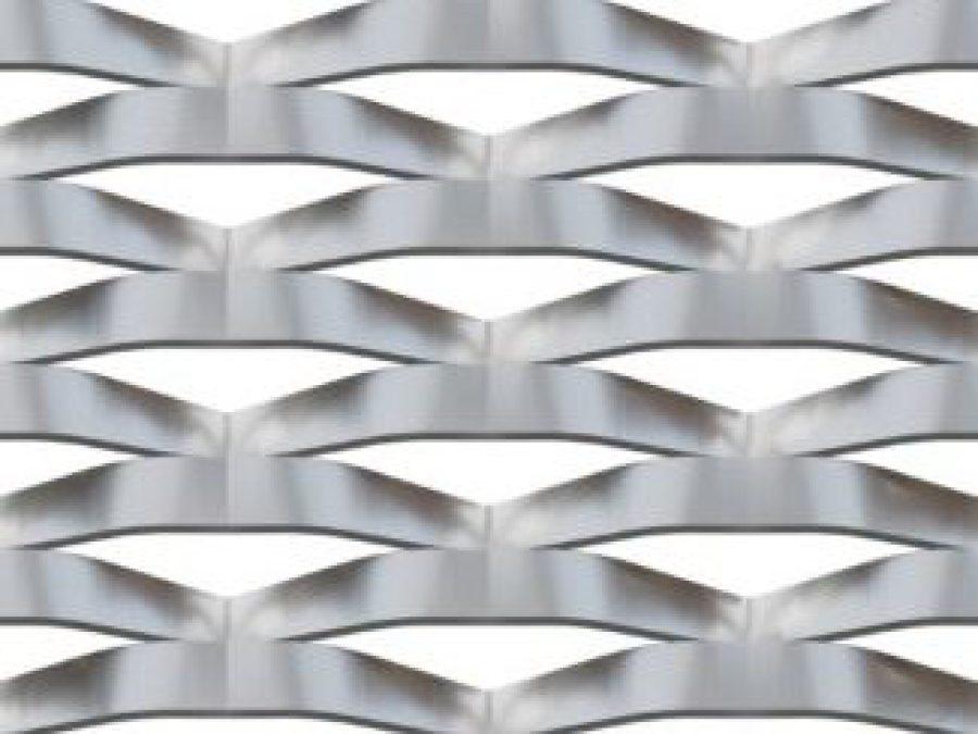 metal deployé MARIANItech BRERA, metal deploye aluminium, tole acier déployé