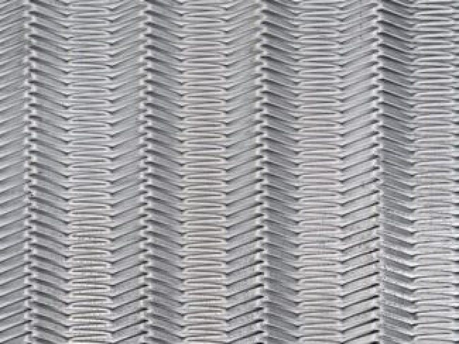 metal deploye EXPO, métal étiré MARIANItech, maille asymétrique acier ou aluminium ou inox, pour chaudronnerie et construction métallique, maille metal design