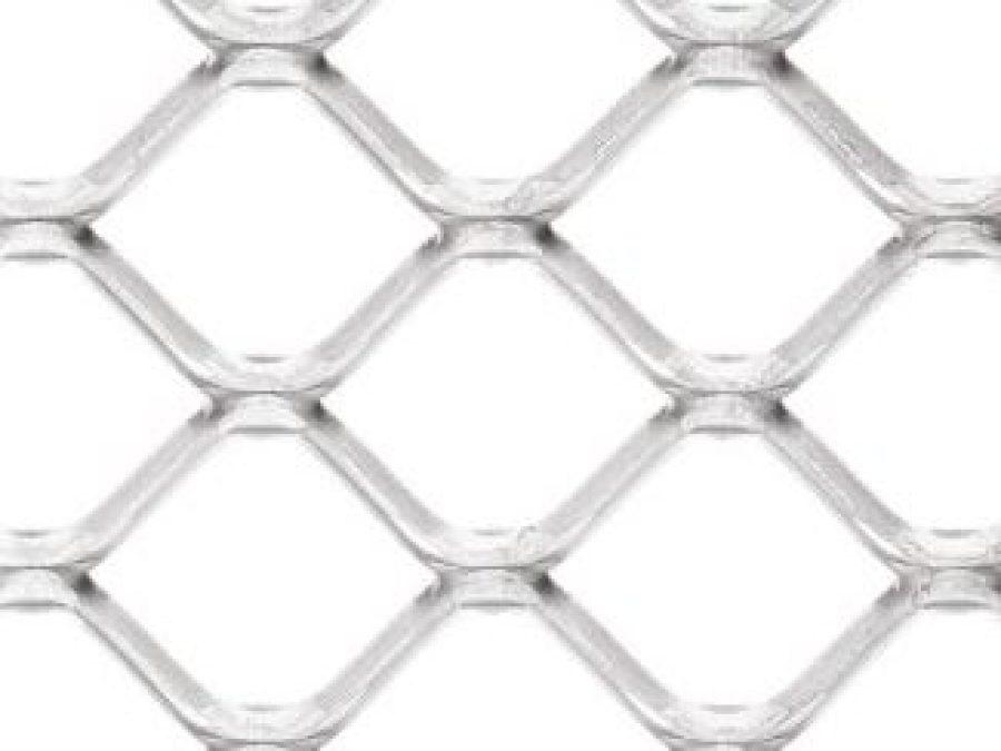 metal etire carré, metal deploye LD 50, marianitech square 50, metal deploye acier brut