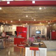 plafond en toile métallique