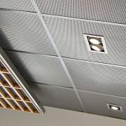 dalle plafond 60x60 metal deploye