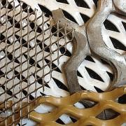 échantillon de mailles métalliques