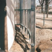 Stucture métallique autoportante pour panneaux de métal déployé