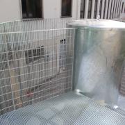 garde-corps cage d'escalier métallique