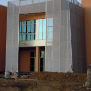 logement, habillage facade metallique