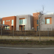 Italie, produit facade metal