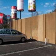clôture métal déployé ral