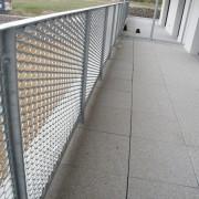 claustras balcon galvanisé