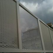 cloture metallique, claustras metal